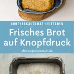 Brot einfach selber backen mit dem Brotbackautomaten - Leitfaden